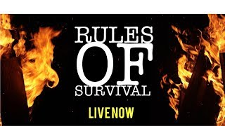 Rules of Survival  MAN ON FIRE😈😈😈😈 in 1080p HD BOY!!!!!