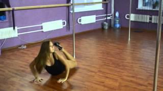 Харина Маша, связка. Студия танца на пилоне Фрейя