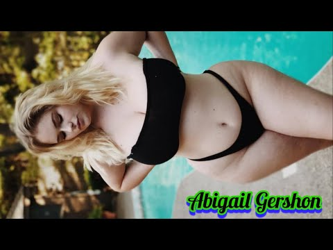 Abigail Gershon, Wonderful Plus Size Bikini, Curves Fashion Ideas