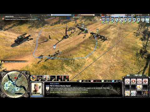 Company of Heroes 2 Theater of War Pripyat River on General Difficulty