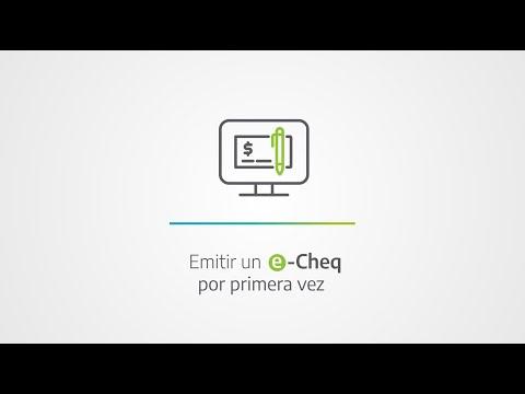 Banco Provincia | Buenos Aires | Tutorial | e-Cheq