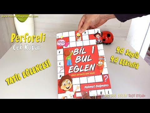 1.SINIF Bil Bul Eğlen TATİL KİTABI - Mehmet BAĞMANC1