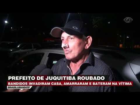 Bandidos invadem casa do prefeito de Juquitiba
