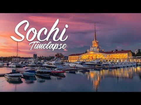SOCHI   IT'S NOT ONLY THE CITY 4k TIMELAPSE / СОЧИ - это не только город