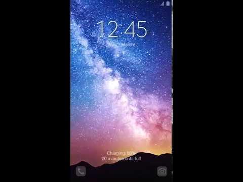 Samsung Themes Animated Wallpaper Milky Way Hd Live 8 Secs Bergen Themes Youtube