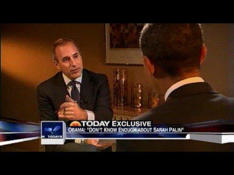 Barak Obama - Reponds to Colin Powell endorsement