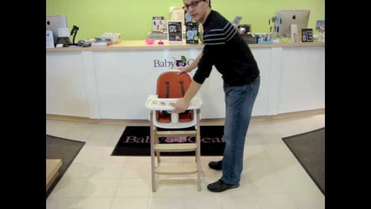 oxo high chair wooden glider australia by baby in gear youtube