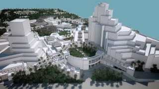Muscat Oman City Star Concept Animation