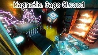 Обзор геймплея Magnetic: Cage Closed   Первый взгляд