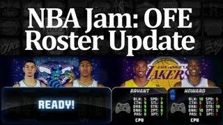 NBA Jam: OFE - Jan 2013 Roster Update Gameplay (Xbox 360)