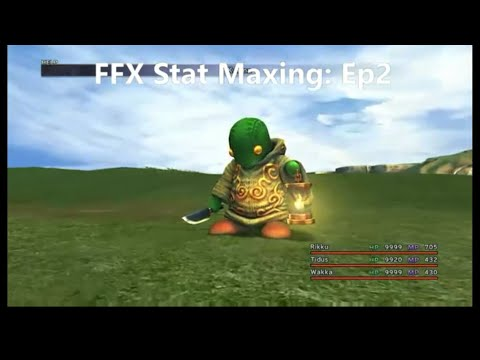 Final Fantasy X Stat Maxing Guide Episode 2: Don Tonberry Trick And Kottos!