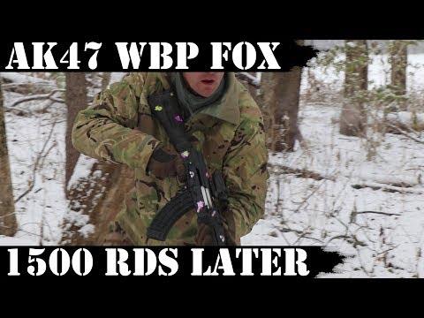 AK47 WBP FOX: Polish Import - 1,500rds Later