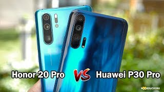 Honor 20 Pro vs Huawei P30 Pro: Should you buy?