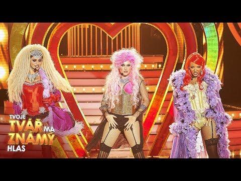 "Pink, Lil Kim, Christina Aguilera ""Lady Marmalade"" | Tvoje tvář má známý hlas"