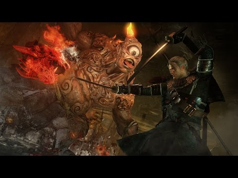 NIOH New Gameplay Trailer Demo 2017 (PS4 / PS4 PRO)