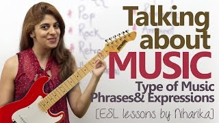 English conversation about Music – Type of Music,