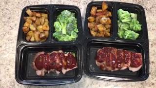 BBQ Pork Tenderlion & Rosemary Potato Meal Prep recipe