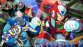 Megaman X vs Zero - Megaman X4: Jet Stingray