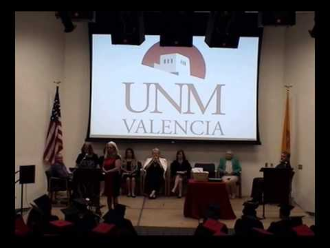 The University of New Mexico Valencia Campus 2015 Adult Education and Certificate Ceremony