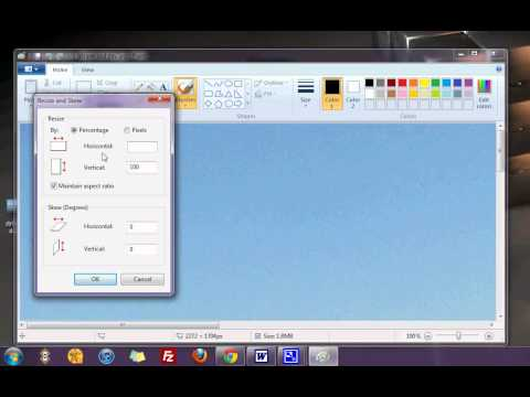 How To Resize Pictures In Windows 7