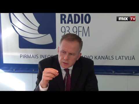 """MIX TV: Президент Банка Латвии Илмар Римшевич """"Разворот"""""""