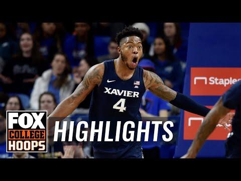 Xavier gets five players in double figures, handles DePaul 67-59 | FOX COLLEGE HOOPS HIGHLIGHTS