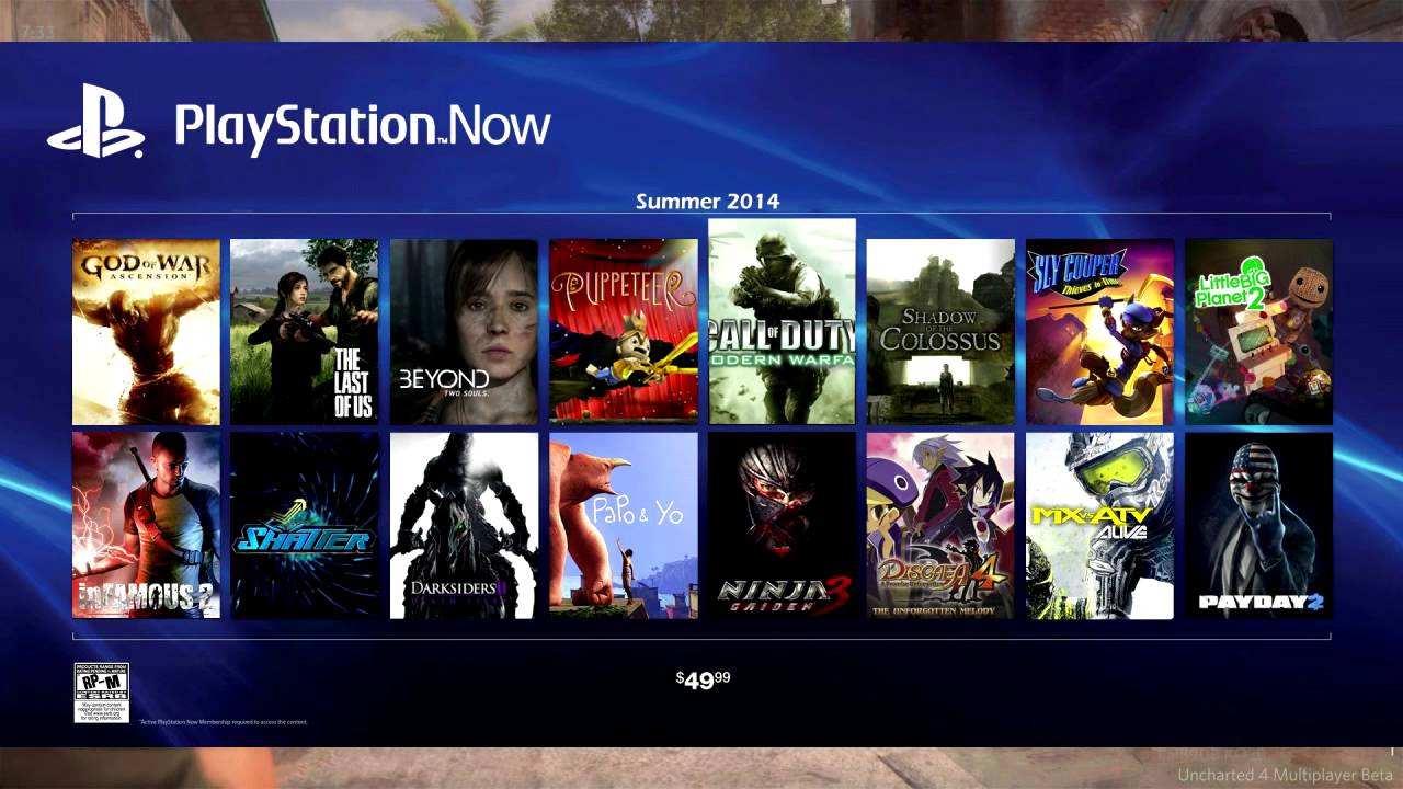 Sony Announces Playstation Now Subscription Service Gmg