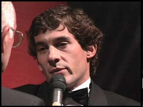 EXCLUSIVE: Ayrton Senna at the 1991 AUTOSPORT Awards