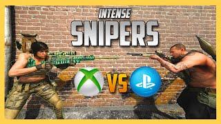 XBOX vs PS4 - Intense Sniper 1v1's!