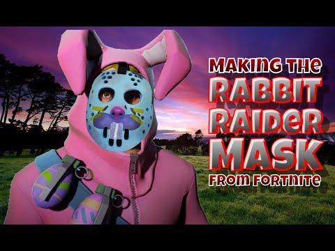 Making The Rabbit Raider Mask From Fortnite