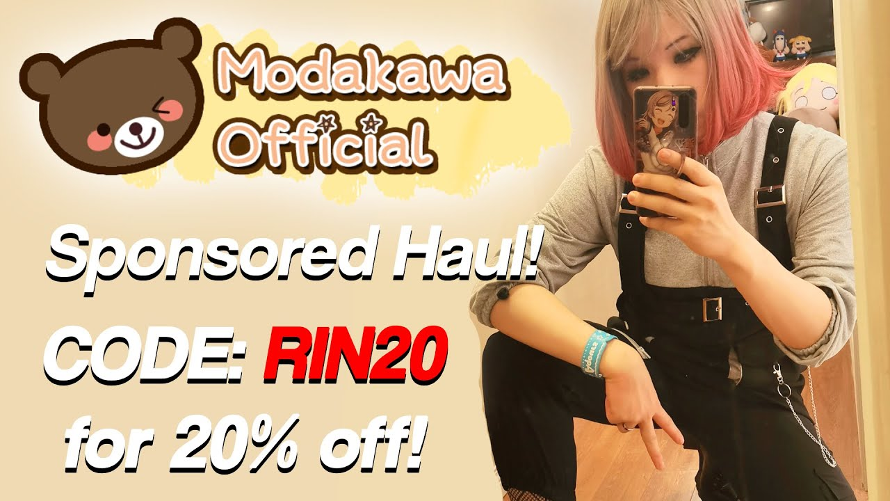 Modakawa Mini Haul 2021!! Use RIN20 for 20 percent off!!!