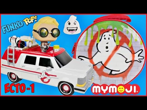 Download Youtube: GHOSTBUSTERS Funko Pop ECTO 1 Vehicle and SURPRISE LUNCHBOX Jillian Holtzman