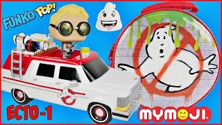 GHOSTBUSTERS Funko Pop ECTO 1 Vehicle and SURPRISE LUNCHBOX Jillian Holtzman
