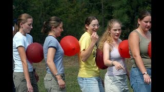 10 GAMES FOR TEAM BUILDING // Outdoor games // Indoor games //