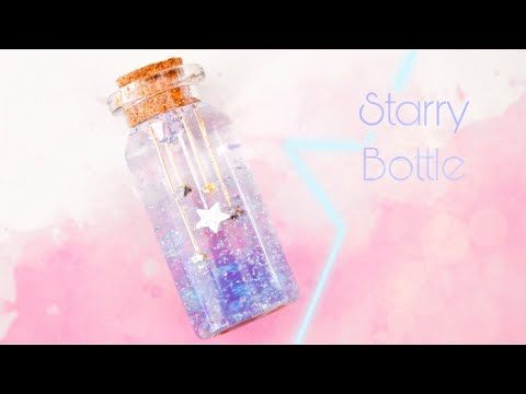Miniature Starry Bottle with Water Beads