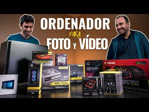 cómo MONTAR SÚPER ORDENADOR PC para EDICIÓN de VÍDEO y FOTOGRAFÍA