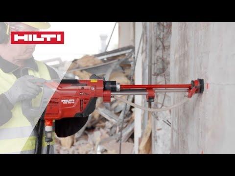 INTRODUCING the new Hilti DD 30-W light diamond drilling machine