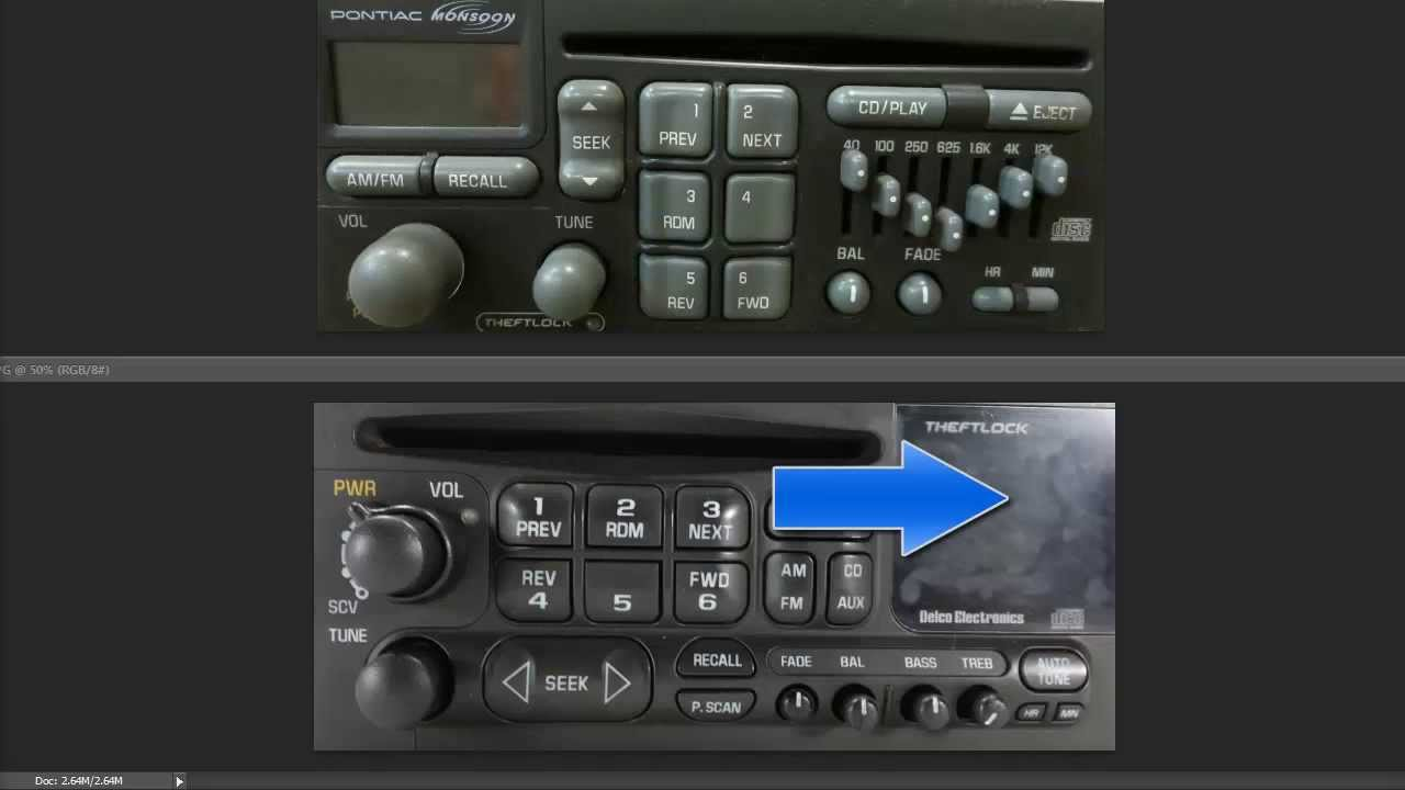 Unlock Chevy  GM Delco Theftlock Radio 1990's2000's
