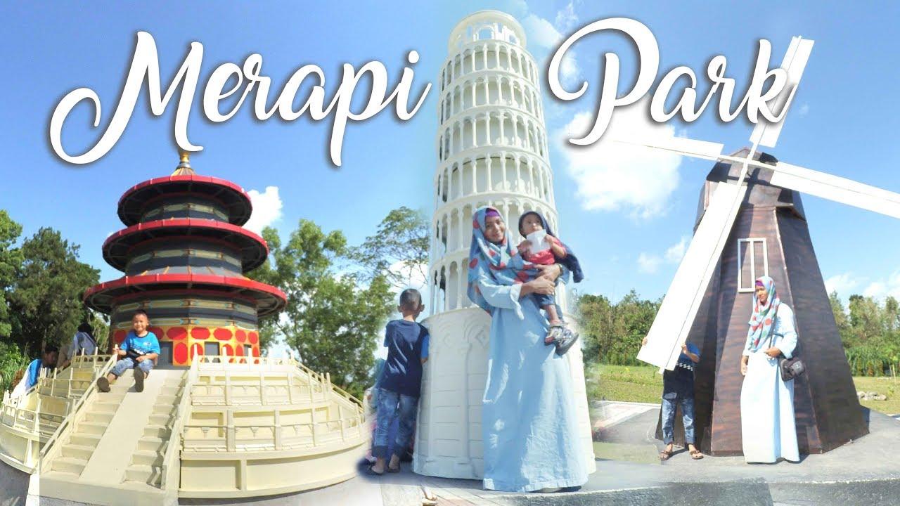 WOW!!! Ada Wisata The World Landmarks Merapi Park Di Kaliurang  Wisata  Jogja