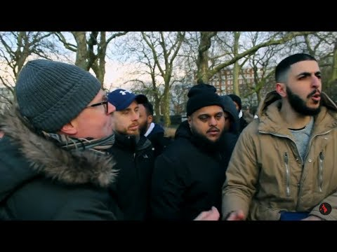Violence in the Park / The Tommy Robinson Ali Dawah Incident | Speakers Corner