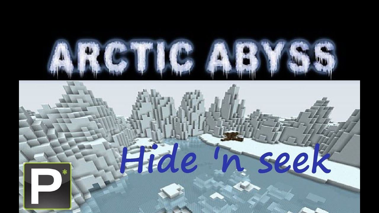 Minecraft Hiden Seek  Map Arctic Abyss pt 1  YouTube