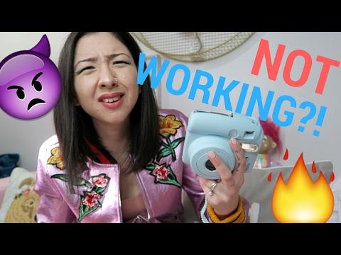 FUJIFILM INSTAX MINI 8 POWER ISSUE: how I'm dumb | Samantha Choi