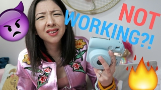 FUJIFILM INSTAX MINI 8 POWER ISSUE: how I'm dumb   Samantha Choi