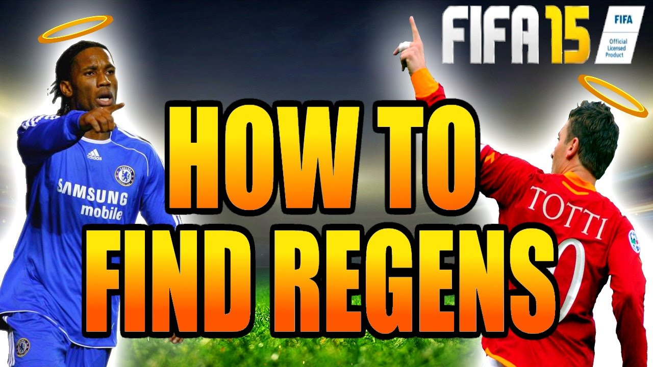 how to find regens fifa 18