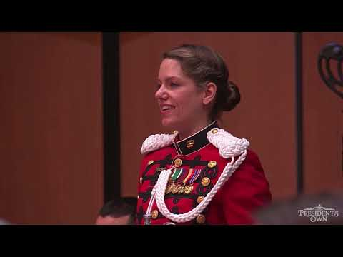 """DREAM HOUR INTRODUCTION - """"The Marines' Hymn"""" - """"The President's Own"""" U.S. Marine Band"""