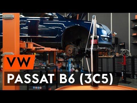 Как заменить стойку амортизатора передней подвески на VW PASSAT B6 (3C5) [TUTORIAL AUTODOC]
