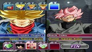 Dragon Ball Z: Budokai Tenkaichi 3  Trunks ssj & Trunks ssj2 & Trunks Rage vs Team Zamasu