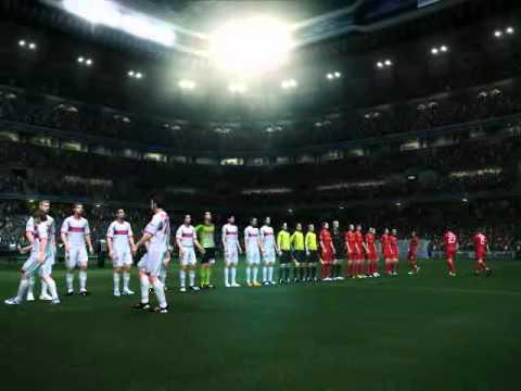 Final UEFA Champions League 2020-21 - Stuttgart x Roma - Entrada dos times