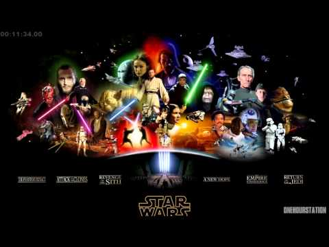 Best Star Wars Music  John Williams