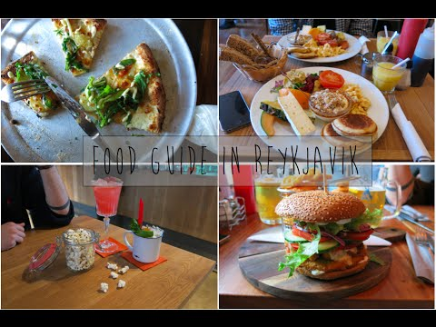 Vlog Islande : FOOD GUIDE REYKJAVIK : Où manger à Reykjavik ?